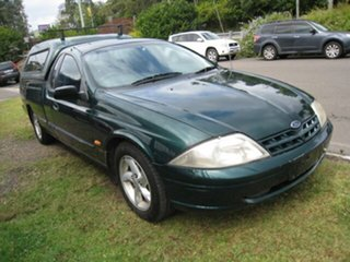 2001 Ford Falcon AUII XLS Green 4 Speed Automatic Utility