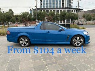 2014 Holden Ute VF MY14 SV6 Ute Blue 6 Speed Manual Utility.