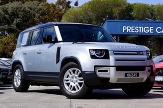 2020 Land Rover Defender L663 21MY S Silver 8 Speed Sports Automatic Wagon.