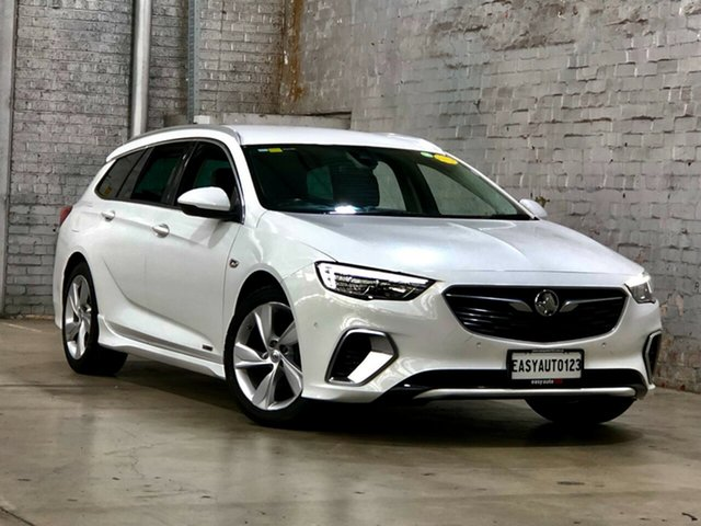 Used Holden Commodore ZB MY18 RS-V Sportwagon AWD Mile End South, 2017 Holden Commodore ZB MY18 RS-V Sportwagon AWD White 9 Speed Sports Automatic Wagon