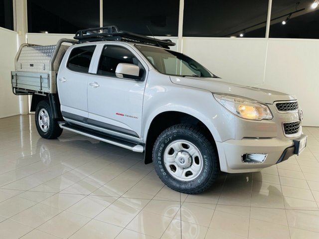 Used Holden Colorado RG MY15 LS Crew Cab 4x2 Deer Park, 2015 Holden Colorado RG MY15 LS Crew Cab 4x2 Silver, Chrome 6 Speed Sports Automatic Cab Chassis