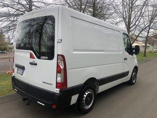 2017 Renault Master X62 Low Roof SWB White 6 Speed Manual Van.
