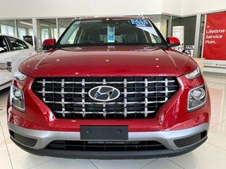 2021 Hyundai Venue QX.V3 MY21 Elite Fiery Red 6 Speed Automatic Wagon.