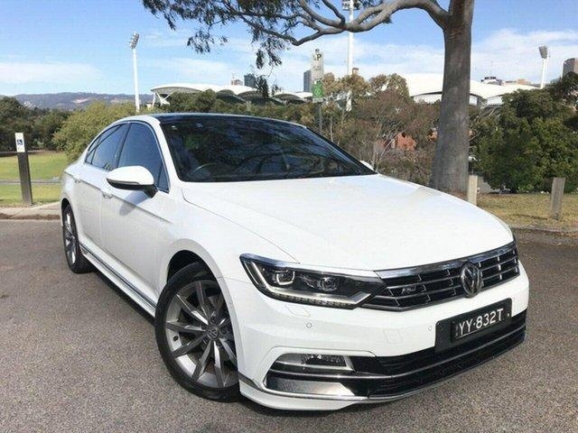 Used Volkswagen Passat 3C (B8) MY17 140TDI DSG Highline Adelaide, 2016 Volkswagen Passat 3C (B8) MY17 140TDI DSG Highline White 6 Speed Sports Automatic Dual Clutch
