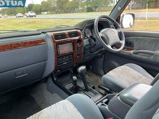 2001 Toyota Landcruiser Prado VZJ95R VX Maroon 4 Speed Automatic Wagon