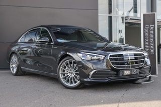 2021 Mercedes-Benz S-Class W223 801MY S450 9G-Tronic 4MATIC Graphite Grey 9 Speed Sports Automatic.