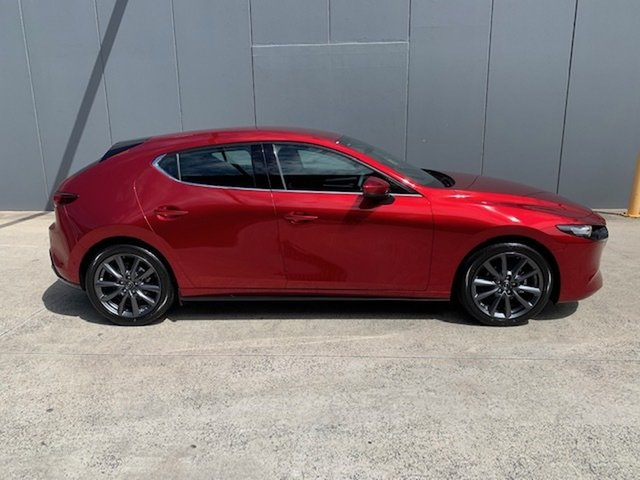 New Mazda 3 BP2H7A G20 SKYACTIV-Drive Touring Alexandria, 2021 Mazda 3 BP2H7A G20 SKYACTIV-Drive Touring Soul Red Crystal 6 Speed Sports Automatic Hatchback