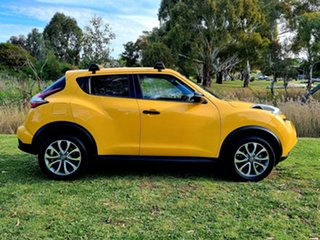 2015 Nissan Juke F15 Series 2 ST X-tronic 2WD Yellow 1 Speed Constant Variable Hatchback