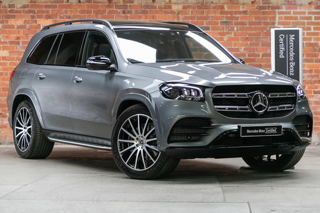 Certified Pre-Owned Mercedes-Benz GLS-Class X167 800+050MY GLS450 9G-Tronic 4MATIC Mulgrave, 2020 Mercedes-Benz GLS-Class X167 800+050MY GLS450 9G-Tronic 4MATIC Selenite Grey 9 Speed