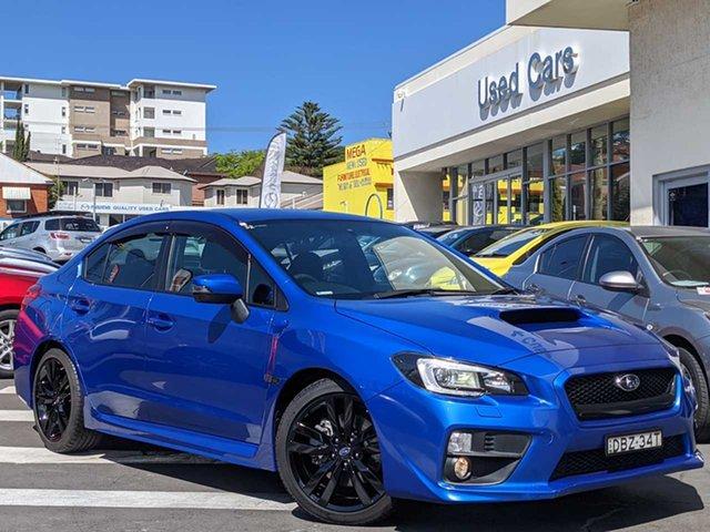 Used Subaru WRX V1 MY16 AWD Wollongong, 2015 Subaru WRX V1 MY16 AWD Lapis Blue 6 Speed Manual Sedan