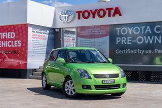 2010 Suzuki Swift EZ MY07 Update RE.4 Green 4 Speed Automatic Hatchback.