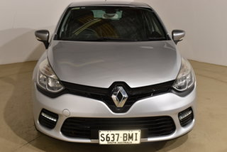 2015 Renault Clio IV B98 GT EDC Silver 6 Speed Sports Automatic Dual Clutch Hatchback.