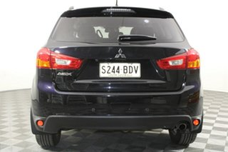 2014 Mitsubishi ASX XB MY15 XLS 2WD Black 6 Speed Constant Variable Wagon