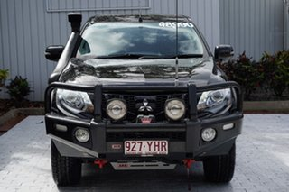 2018 Mitsubishi Triton MQ MY18 Blackline Double Cab Pitch Black/da 5 Speed Sports Automatic Utility.