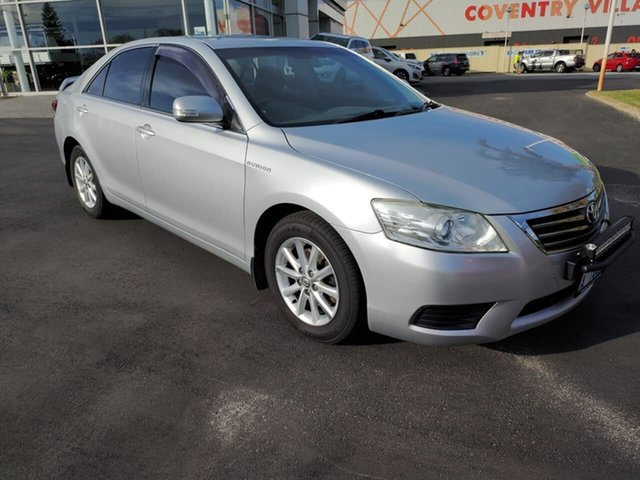 Used Toyota Aurion GSV40R AT-X Morley, 2009 Toyota Aurion GSV40R AT-X Silver 6 Speed Sports Automatic Sedan