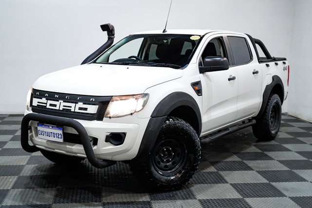 Used Ford Ranger PX XL Edgewater, 2015 Ford Ranger PX XL White 6 Speed Manual Utility