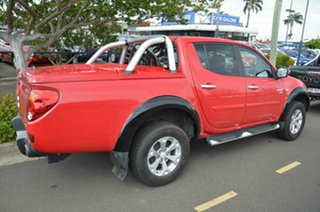 2012 Mitsubishi Triton MN MY12 GLX (4x4) Red 5 Speed Manual 4x4 Double Cab Utility.