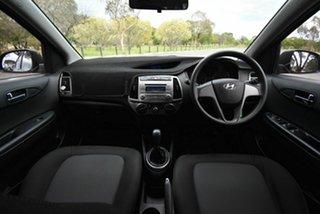 2014 Hyundai i20 PB MY14 Active Grey 6 Speed Manual Hatchback