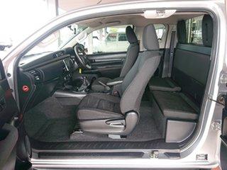 2017 Toyota Hilux GUN126R SR (4x4) Silver Sky 6 Speed Manual X Cab Utility