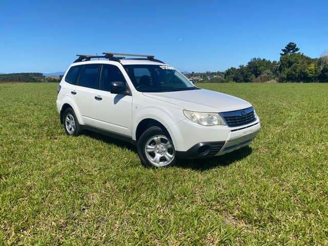 Pre-Owned Subaru Forester MY10 X Atherton, 2009 Subaru Forester MY10 X White 5 Speed Manual Wagon