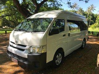 2017 Toyota HiAce KDH223R MY16 Commuter (12 Seats) White Bus.