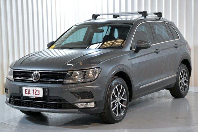 Used Volkswagen Tiguan 5N MY17 132TSI DSG 4MOTION Comfortline Hendra, 2016 Volkswagen Tiguan 5N MY17 132TSI DSG 4MOTION Comfortline Grey 7 Speed