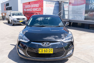 2014 Hyundai Veloster FS MY13 Black 6 Speed Auto Dual Clutch Coupe