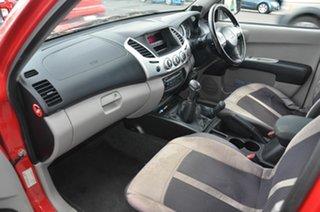 2012 Mitsubishi Triton MN MY12 GLX (4x4) Red 5 Speed Manual 4x4 Double Cab Utility