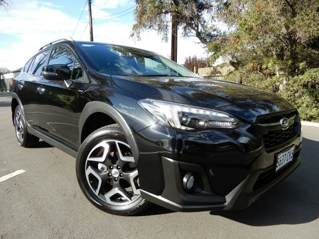 Used Subaru XV G5X MY18 2.0i-S Lineartronic AWD Glenelg, 2017 Subaru XV G5X MY18 2.0i-S Lineartronic AWD Black 7 Speed Constant Variable Wagon