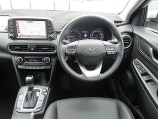 2020 Hyundai Kona OS.3 MY20 Elite 2WD White 6 Speed Sports Automatic Wagon