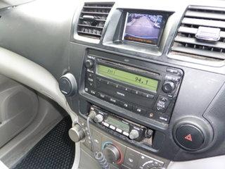 2008 Toyota Kluger GSU45R KX-R (4x4) 5 Seat White 5 Speed Automatic Wagon