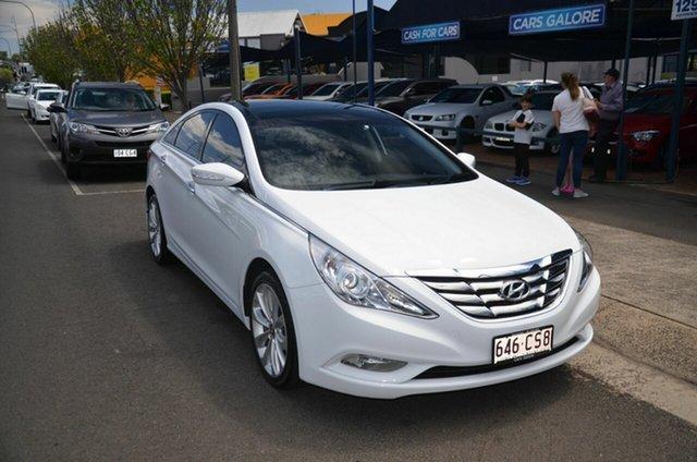 Used Hyundai i45 YF MY11 Premium Toowoomba, 2011 Hyundai i45 YF MY11 Premium White 6 Speed Automatic Sedan