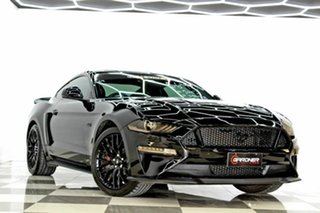 2019 Ford Mustang FN Fastback GT 5.0 V8 Black 10 Speed Automatic Coupe.