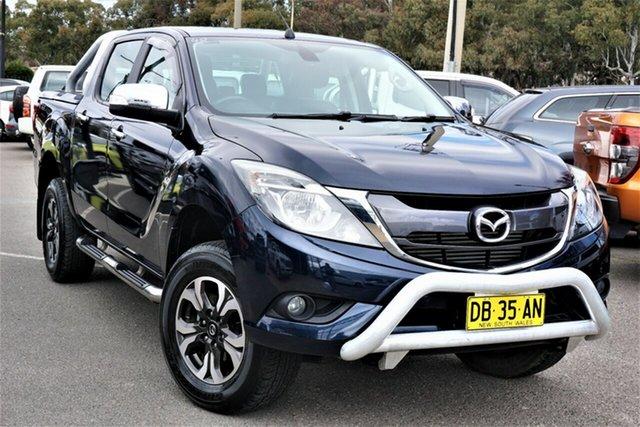 Used Mazda BT-50 UR0YF1 XTR Phillip, 2016 Mazda BT-50 UR0YF1 XTR Blue 6 Speed Sports Automatic Utility