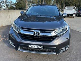 2018 Honda CR-V RW MY19 VTi-S FWD Grey 1 Speed Constant Variable Wagon.