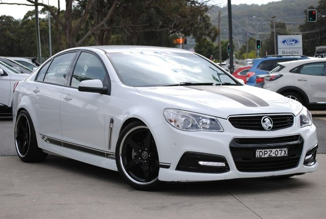 Used Holden Commodore VF MY14 SV6 West Gosford, 2014 Holden Commodore VF MY14 SV6 White 6 Speed Sports Automatic Sedan