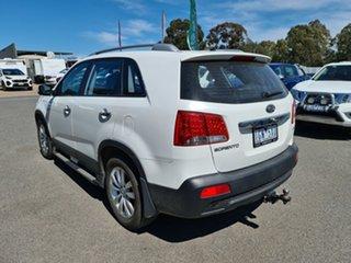 2012 Kia Sorento XM MY12 SLi White 6 Speed Sports Automatic Wagon.