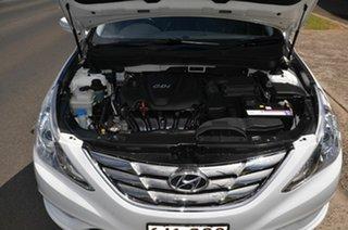 2011 Hyundai i45 YF MY11 Premium White 6 Speed Automatic Sedan