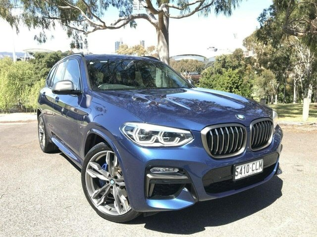 Used BMW X3 G01 M40i Steptronic Adelaide, 2018 BMW X3 G01 M40i Steptronic Blue 8 Speed Automatic Wagon
