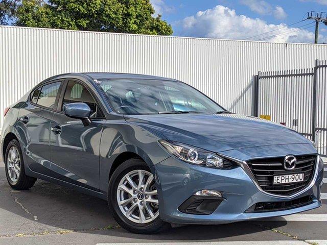 Used Mazda 3 BM5276 Neo SKYACTIV-MT Wollongong, 2015 Mazda 3 BM5276 Neo SKYACTIV-MT Blue Reflex 6 Speed Manual Sedan