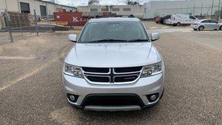 2011 Dodge Journey JC MY10 SXT Silver 6 Speed Automatic Wagon