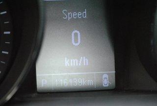 2016 Holden Commodore VF II MY16 SV6 Sportwagon Black Orange 6 Speed Sports Automatic Wagon