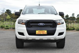 2017 Ford Ranger PX MkII 2018.00MY XL Hi-Rider White 6 Speed Sports Automatic Cab Chassis.