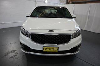 2016 Kia Carnival YP MY17 Platinum White 6 Speed Sports Automatic Wagon