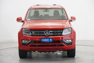 2019 Volkswagen Amarok 2H MY19 TDI550 4MOTION Perm Highline Tornado Red 8 Speed Automatic Utility.