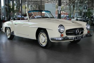 1960 Mercedes-Benz 190SL R121 Cream 4 Speed Manual Roadster.