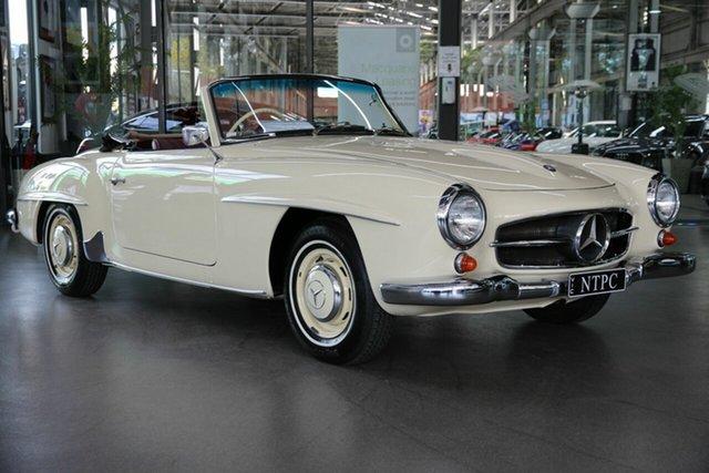 Used Mercedes-Benz 190SL R121 North Melbourne, 1960 Mercedes-Benz 190SL R121 Cream 4 Speed Manual Roadster