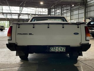 1989 Ford Falcon XF GLS Ute White 3 Speed Automatic Utility