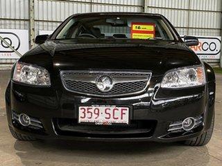 2011 Holden Commodore VE II MY12 Equipe Black 6 Speed Sports Automatic Sedan.