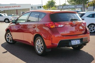 2014 Toyota Corolla ZRE182R Ascent Sport S-CVT Orange 7 Speed Constant Variable Hatchback.